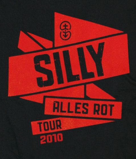 "Silly - ""Tour 2010"" T-Shirt"
