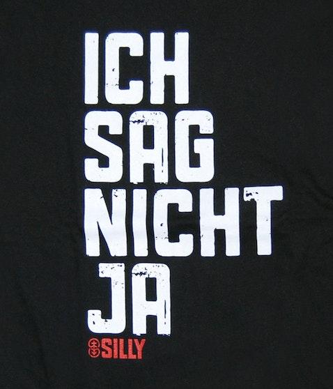 """Silly - """"Ich sag nicht ja"""" Girlie Shirt"""