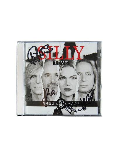 """Silly - """"Kopf an Kopf"""" - Live Album, handsigniert"""