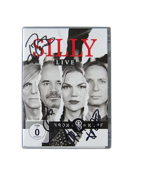 """Silly - """"Kopf an Kopf"""" - Live DVD, handsigniert"""