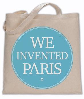 We Invented Paris - Stoffbeutel Blau