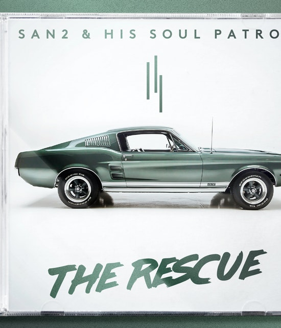 SAN2 & HIS SOUL PATROL - THE RESCUE CD