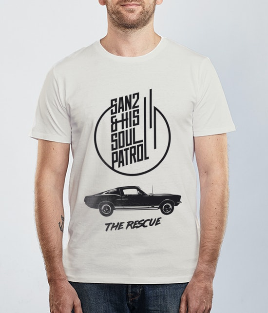 SAN2 & HIS SOUL PATROL - T-SHIRT - THE RESCUE