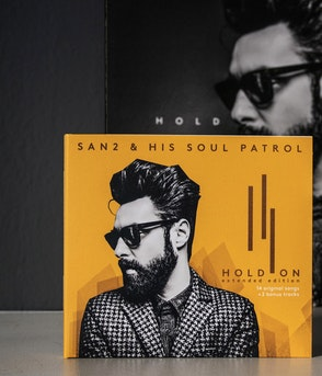 SAN2 & HIS SOUL PATROL - HOLD ON - EXTENDED EDITION CD