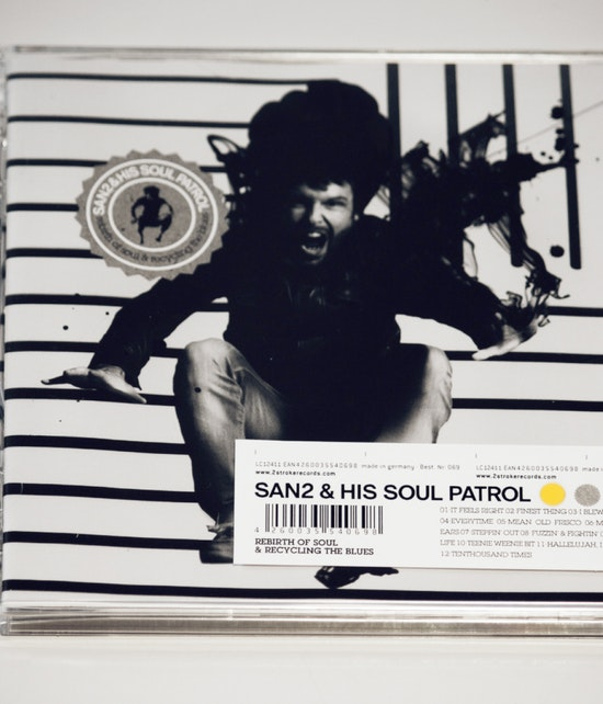 SAN2 & HIS SOUL PATROL - REBIRTH OF SOUL & RECYCLING THE BLUES CD
