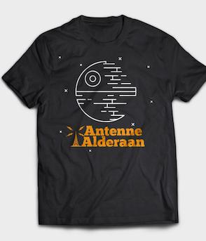 Antenne Alderaan - Shirt