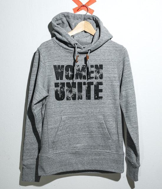 "Carolin Kebekus - Hoody ""Women Unite"" grau"
