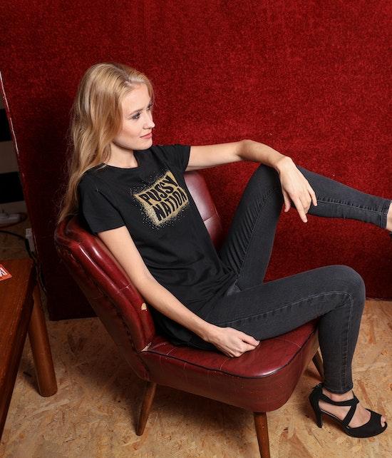 Carolin Kebekus - T-Shirt PussyNation, gold