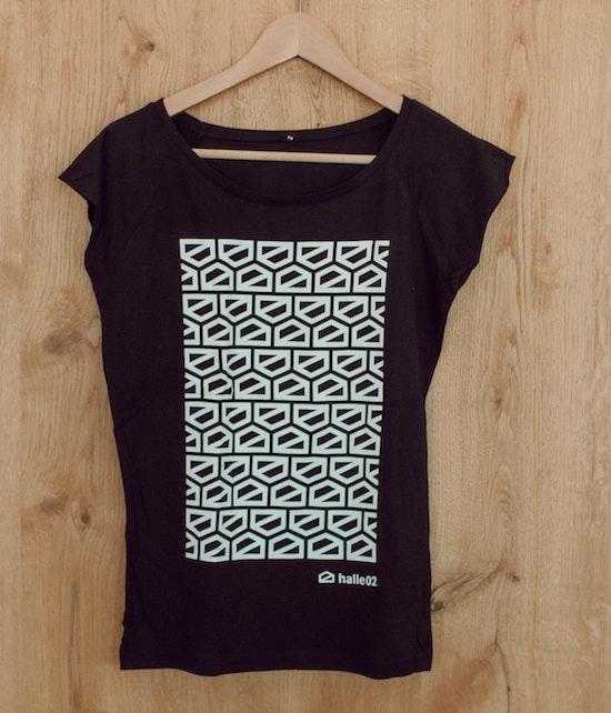 halle02 - Häuschen Multi Shirt (Girlie)