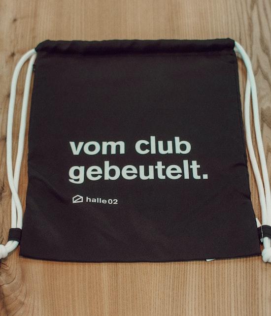 Halle02- vom club gebeutelt - Sportbeutel