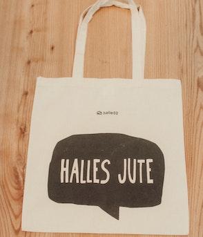Halle02 - Halles Jute - tasche