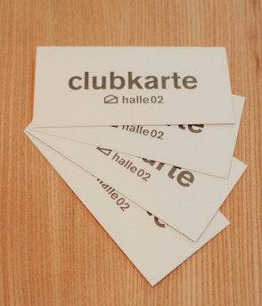 """Halle02 - Gutschein """"Clubkarte"""" (halle02.de/club) inkl. 30€ Guthaben"""