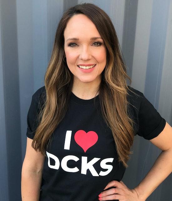 Carolin Kebekus - T-Shirt DCKS (schwarz)