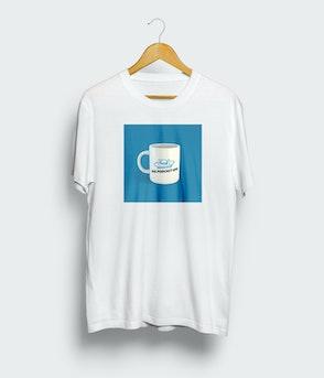 """Das Podcast UFO - T-Shirt """"Tasse"""""""