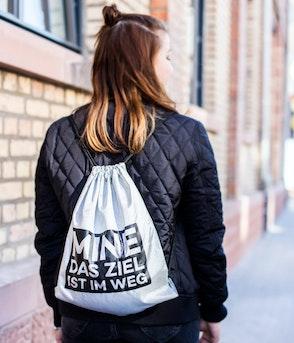 """Mine - """"Das Ziel ist im Weg"""" Gym Bag"""