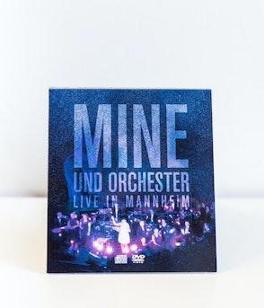 Mine - DVD + CD MINE UND ORCHESTER: LIVE IN MANNHEIM