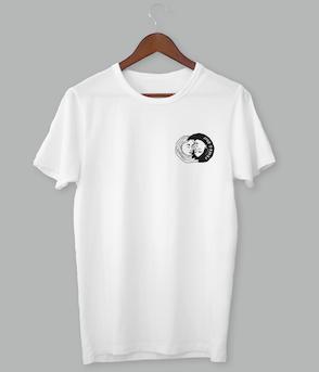 Feuer & Brot - T-Shirt weiß
