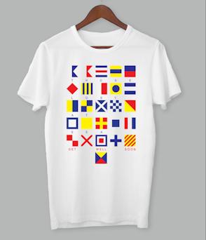 Those Lost At Sea - Flag Shirt