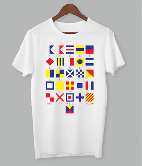 Those Lost At Sea - Flag Shirt
