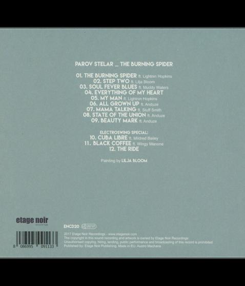 PAROV STELAR - The Burning Spider (CD)