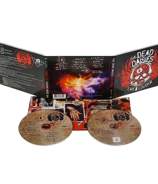 The Dead Daisies - Live & Louder (CD & DVD Digipak)