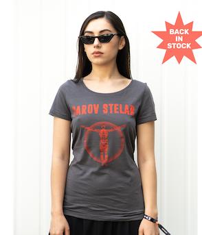 PAROV STELAR - T-Shirt Robo Woman Anthrazit