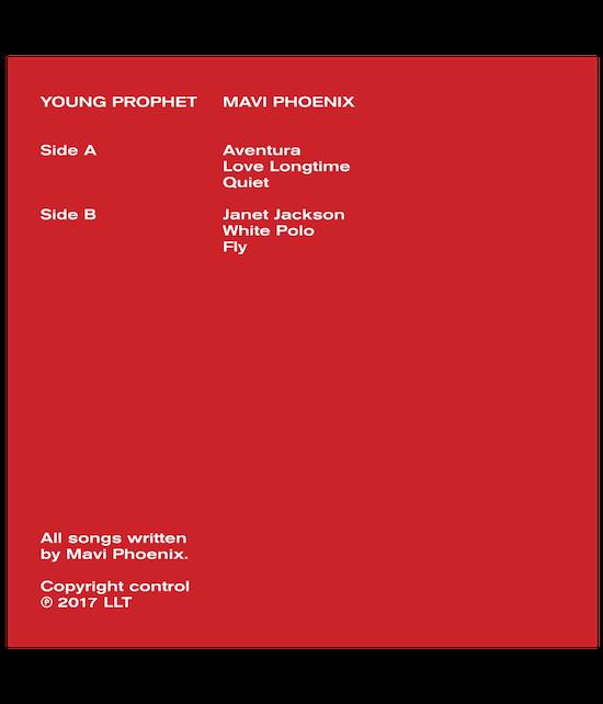 YOUNG PROPHET EP - RE-RELEASE (VINYL)