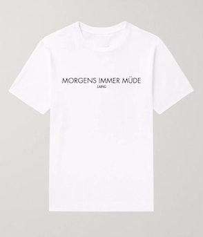 """Laing - T-Shirt """"Morgens immer müde"""""""
