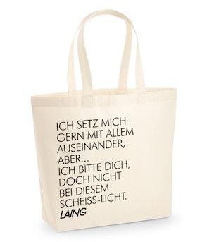 """Laing - XL-Shopper """"Wechselt die Beleuchtung"""""""