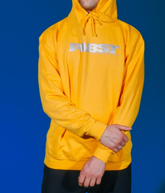 Pabst - A Band Hoodie orange