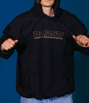 Pabst - A Band Hoodie gold