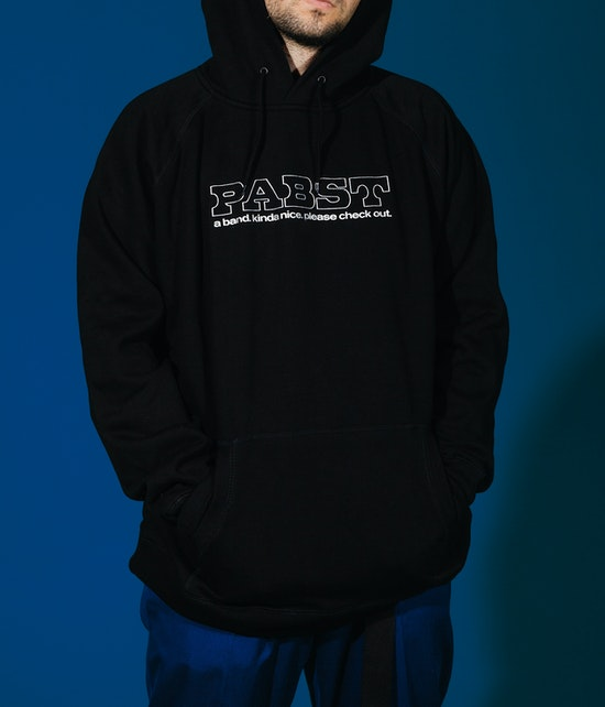 Pabst - A Band Hoodie black