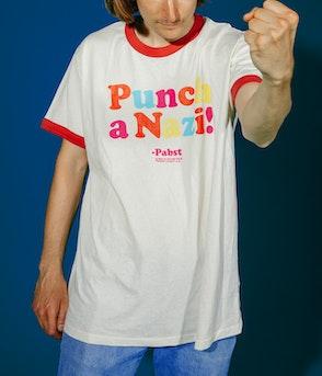 Pabst - Punch a Nazi Shirt